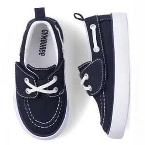 NWT • Children's Place Canvas Boat Shoes • size 11